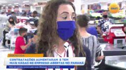 Contratações aumentaram e tem mais vagas de emprego abertas no Paraná