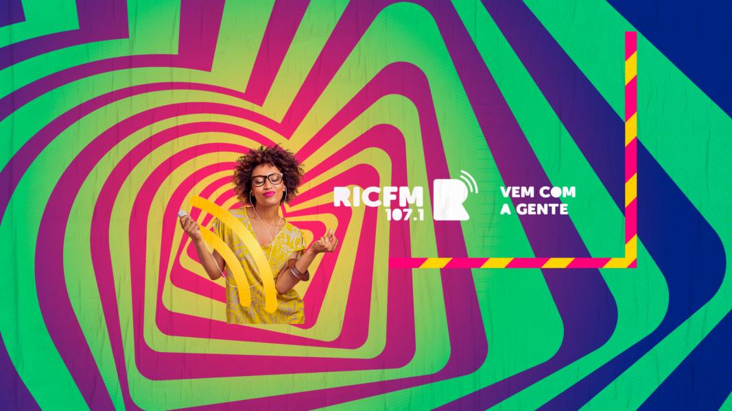 """Música e entretenimento pertinho de você: a RIC FM 107.1 estreia amanhã! """"Vem com a gente!"""""""