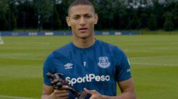 Richarlison recebe ameaça de morte após clássico entre Everton e Liverpool