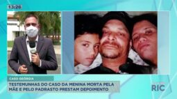 Acontece depoimento das testemunhas do caso Georgia; a menina foi morta pela mãe e padrasto