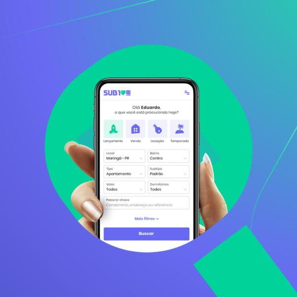 Sub100 lança novo portal com foco em dispositivos móveis e oferta de serviços modernos para clientes