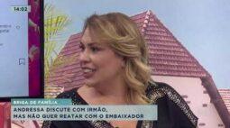 Irmão de Andressa faz comentários, mas ela diz que não quer voltar com Gusttavo Lima