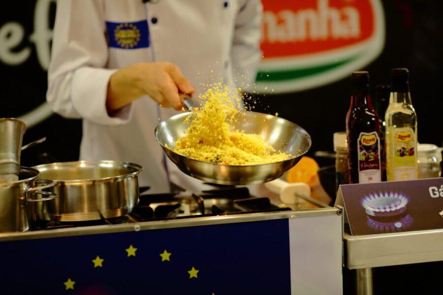 Você é o Chef e Centro Europeu: parceria com a qualidade da Compagas