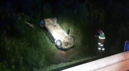 Jovem morre e três ficam feridos em acidente na BR-277, em Balsa Nova