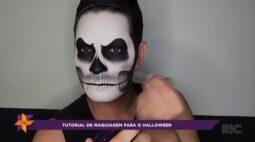 Maquiagem para o Halloween!
