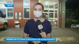 Homem de 23 anos é baleado em Mandaguaçu