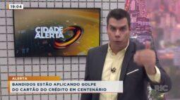 Bandidos estão aplicando golpe do cartão do crédito em Centenário do Sul