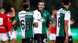 Sporting duela contra o Moreirense pelo Campeonato Português