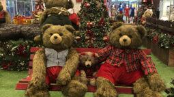Com os Ursos Peraltas e Papai Noel virtual, Natal chega ao Ventura Shopping