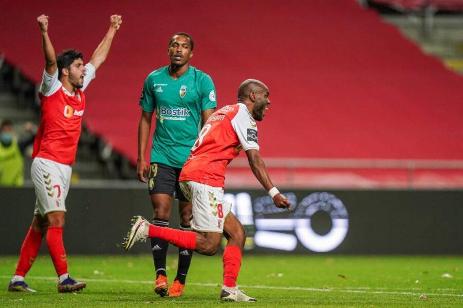 Braga vence lanterna e assume a vice-liderança do Campeonato Português