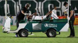 Em recuperação de lesão, Luiz Adriano publica foto na Academia de Futebol