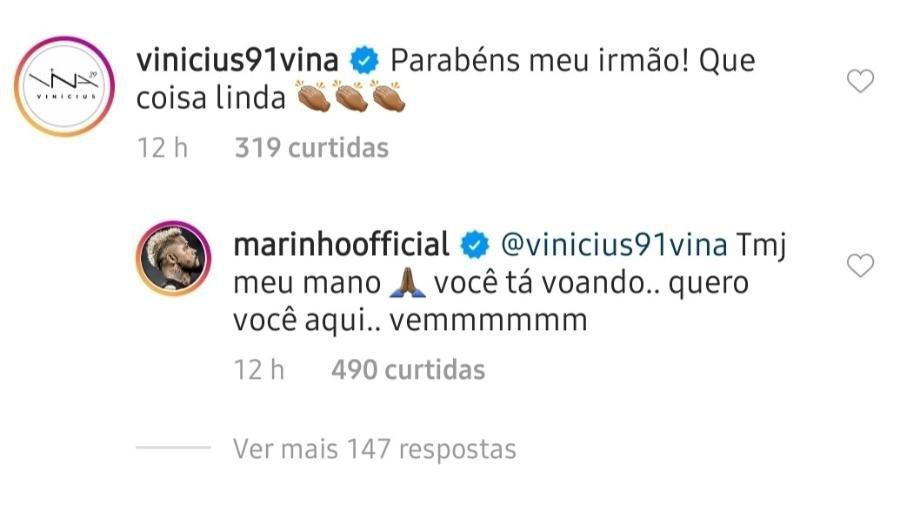 """Marinho faz campanha por Vina, do Ceará, no Santos: """"Quero você aqui"""""""