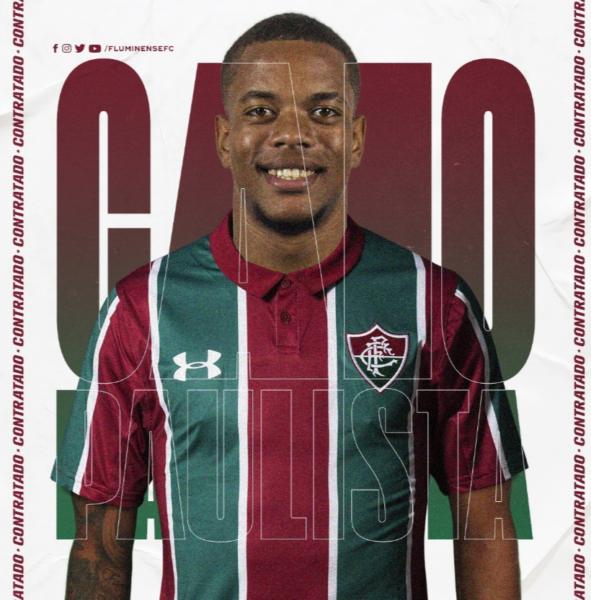 """Caio Paulista rasga elogios ao Fluminense: """"me sinto muito em casa"""""""