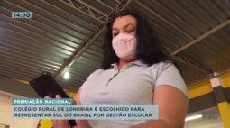 Colégio rural de Londrina é escolhido para representar sul do Brasil por gestão escolar