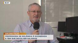 Professora de Rolândia é exonerada e tem que devolver salários