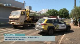 Caminhoneiro atropela mecânico em Doutor Camargo