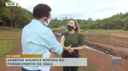Sanepar interrompe fornecimento de água no domingo em Cascavel