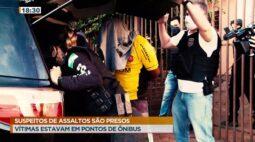 Suspeitos de assaltos à mulheres em ponto de ônibus é preso em Curitiba