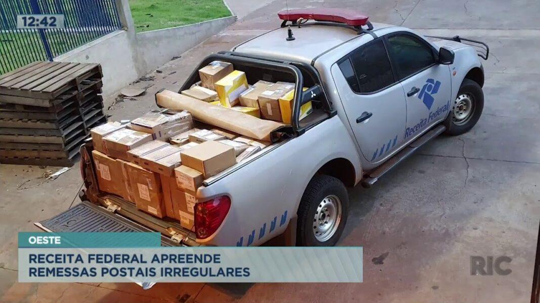 Receita Federal apreende remessas postais irregulares