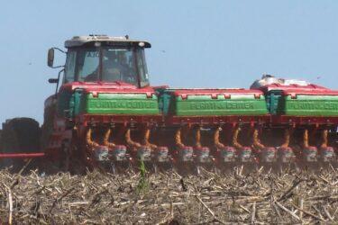 Agricultores correm para plantar soja
