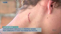 Adolescente denuncia o próprio sogro por agressão e caso vai parar na polícia