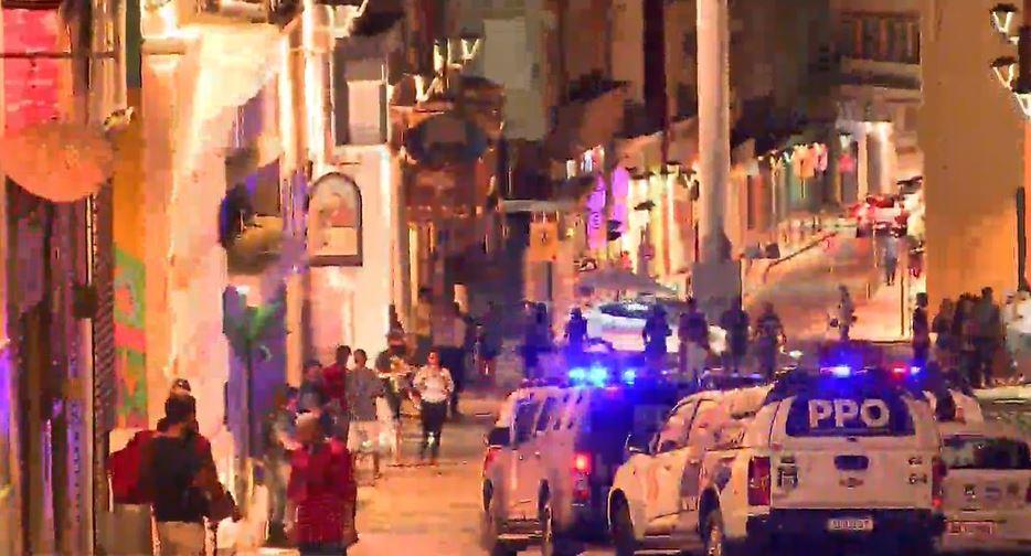 Aglomeração no Largo da Ordem termina com tiros e bares fechados