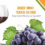 Beber vinho todos os dias traz benefícios a saúde?