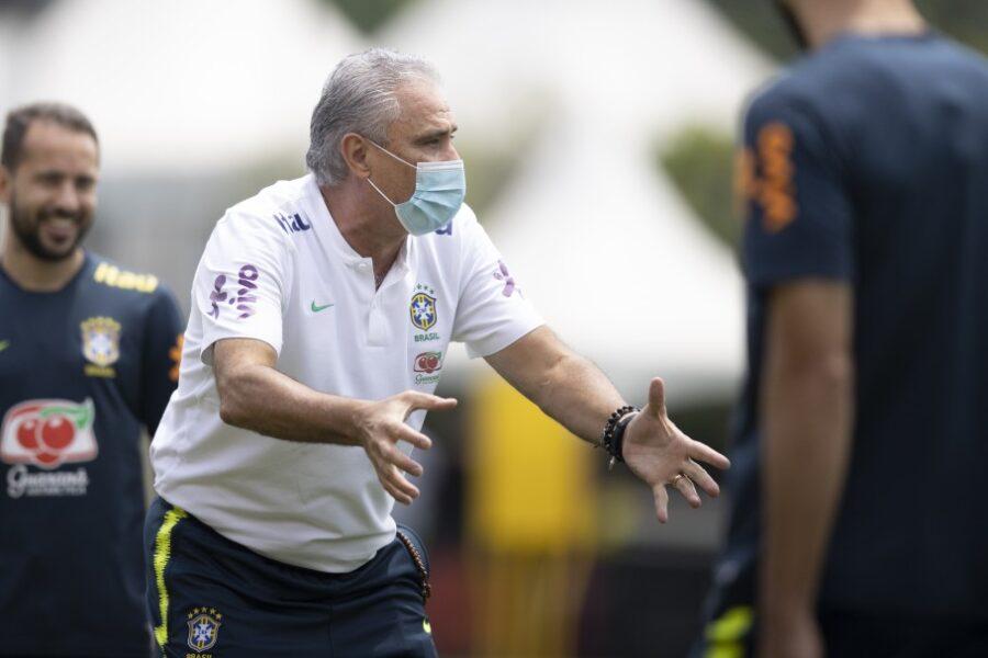 Com dúvida no meio-campo, Brasil encerra preparação para enfrentar o Uruguai
