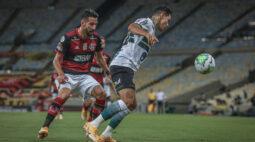 Coritiba perde para o Flamengo e permanece na ZR