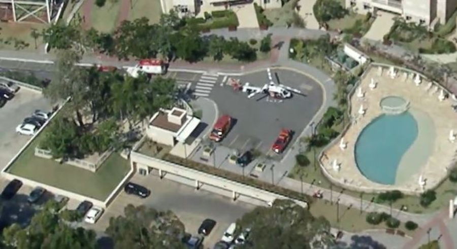 Criança de seis anos cai de prédio e é internada em estado grave