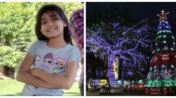 Criança de oito anos leva choque e morre ao encostar em enfeite de Natal