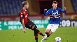 Genoa vira e despacha Sampdoria da Copa da Itália; Torino avança sem dificuldades