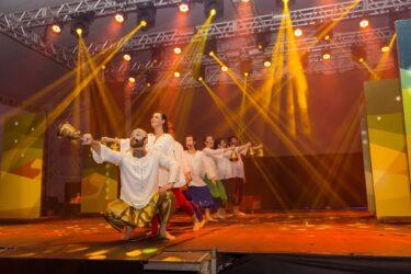 Espetáculo Natal Mágico Condor leva encanto ao Memorial de Curitiba