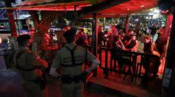 Fiscalização em Curitiba fechou quatro estabelecimentos em desacordo com novo decreto
