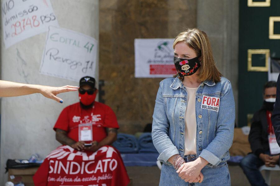 Gleisi Hoffmann culpa Bolsonaro por seca histórica