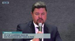 Polícia Federal e Receita Federal cumprem mais de 200 mandados no Brasil
