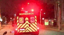 Durante a madrugada, homem é agredido ao lado de estádio de futebol, em Curitiba