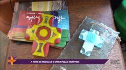 A arte de reciclar e criar peças incríveis!