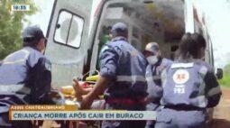 Criança morre após cair em buraco na região de Assis Chateaubriand