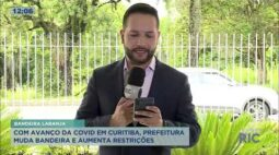 Prefeitura de Curitiba anuncia bandeira laranja; saiba o que muda com o novo decreto