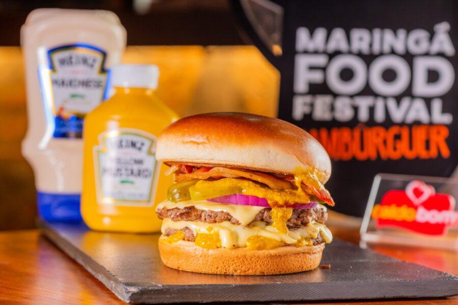 Maringá Food Festival faz parceria com grandes marcas e fortalece setor de hambúrguer