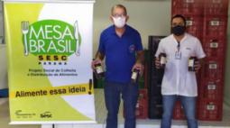 Mais de 648 toneladas de itens são arrecadados pela Campanha Estadual do Mesa Brasil