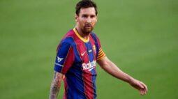 Messi não é relacionado para jogo do Barcelona na Liga dos Campeões; Koeman explica