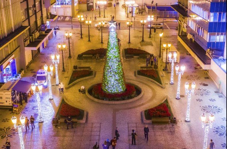 Programação do Natal de Curitiba começa no próximo domingo (22)