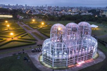 Concerto luminoso do Jardim Botânico abre Natal de Curitiba 2020