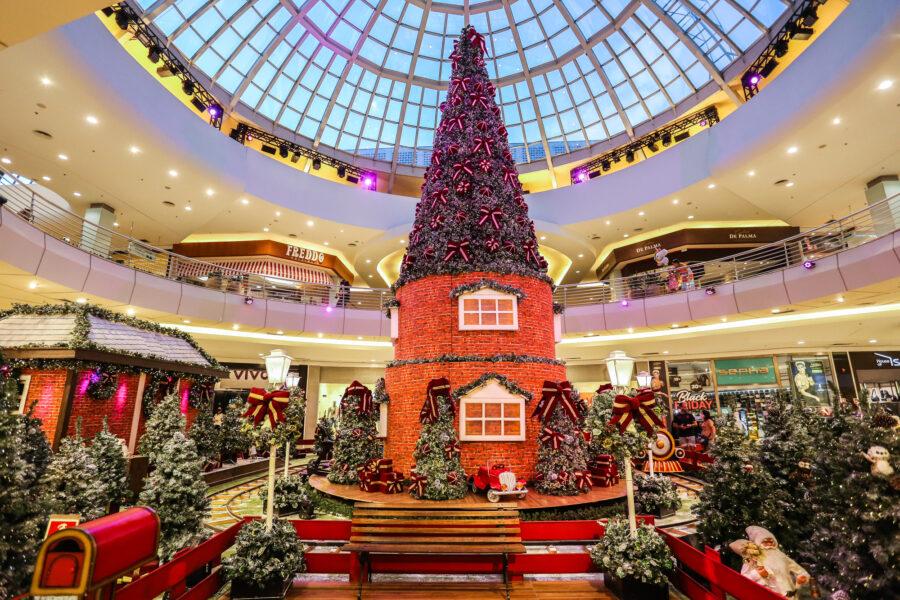 Campanha de Natal do ParkShoppingBarigüi tem Papai Noel direto do Polo Norte e sorteio de R$ 1 milhão