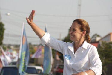 Nina Singer é a primeira mulher a ser eleita prefeita em São José dos Pinhais