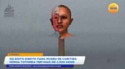 Do Egito direto para museu de Curitiba múmia Tothmea tem mais de 2 500 anos