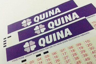 Resultado Quina concurso 5422; veja os números sorteados nesta quinta-feira (19)