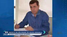 Prefeito de São Miguel do Iguaçu renúncia ele está preso desde setembro